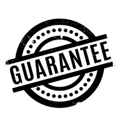 Guarantee rubber stamp vector