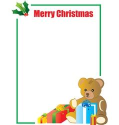 Simple card design vector image
