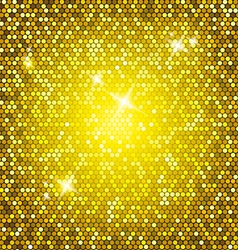 Golden glitter vector