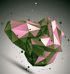 Colorful modern digital technology style vector
