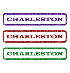 Charleston watermark stamp vector