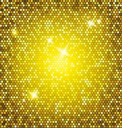 Golden glitter vector
