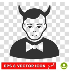 Devil eps icon vector