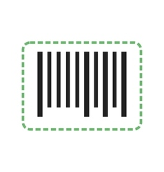 Cutting bar code vector