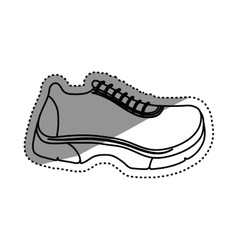 Running sport sneaker vector image vector image