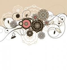 stylish background vector image vector image