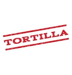 Tortilla Watermark Stamp vector image