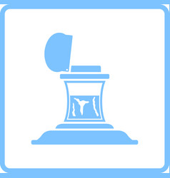 Inkstand icon vector