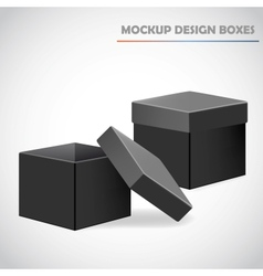 Mocup boxes vector