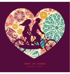 abstract decorative circles couple on vector image