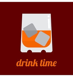 Drink time vector