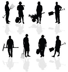 gardener people vector image
