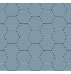 Geometric hexagon seamless pattern vector