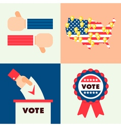 Usa election set 2 vector