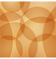 abstract background with yellow circles vector image vector image