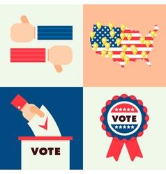 USA Election Set 2 vector image