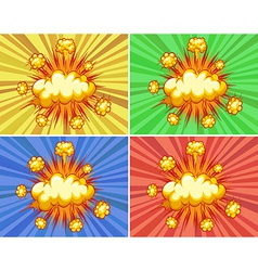 Explosions vector
