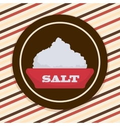 Salt icon design vector