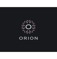 Premium monogram letter O initials logo Universal vector image