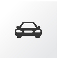 car icon symbol premium quality isolated auto vector image vector image