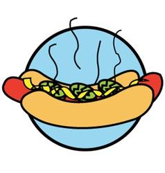 Hotdogs vector image vector image