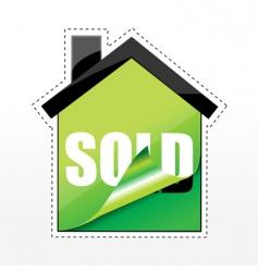 House sale tags vector