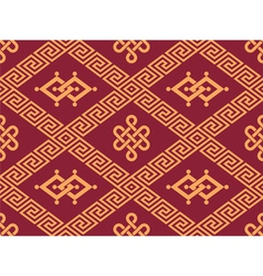 Oriental seamless tile - traditional pattern vector
