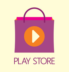 Play store vector