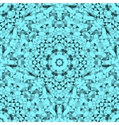 Abstract Seamless Vintage Blue Pattern vector image
