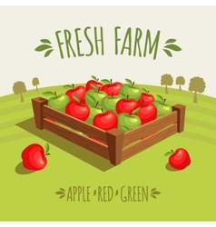 Fresh farm vector