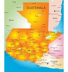 Guatemala vector image vector image