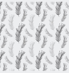 Rustic feathers background icon vector
