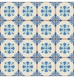 Seamless Turkish Moroccan Portuguese tiles vector image vector image