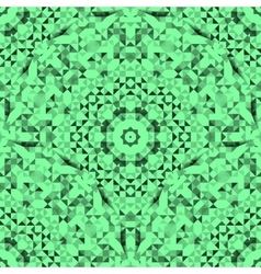 Abstract seamless green geometric pattern vector