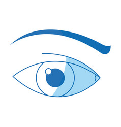 Human eye vision optical design image vector