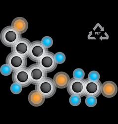 Polyethylene terephthalate formula vector