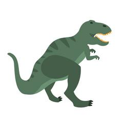 T-rex dinosaur of jurassic period prehistoric vector