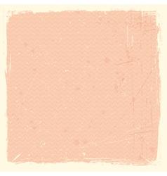 Grunge texture with chevron pattern vector