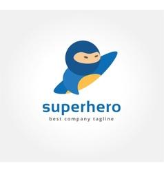 Abstract superman logo icon concept logotype vector