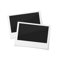 Collect moments set photos sticked down vector