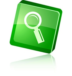 Searching icon vector image vector image