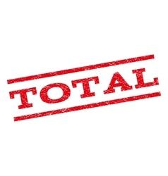 Total Watermark Stamp vector image vector image