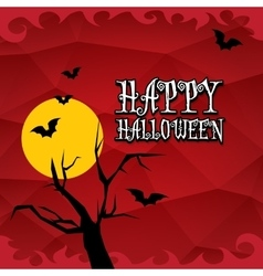 Halloween dark background vector