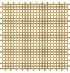 Golden bars pattern vector image