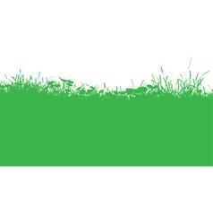 grassy landscape 2003 vector image