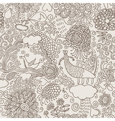 Hand drawn doodles vector