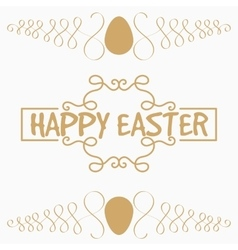 It is yellow or gold egg and vegetable lement vector image vector image
