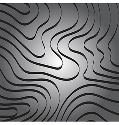 Abstract Curve Ribbon Line on Gray Background vector image vector image