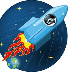 cosmos vector image vector image