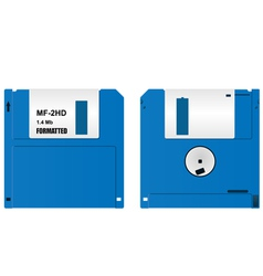floppy diskette vector image vector image